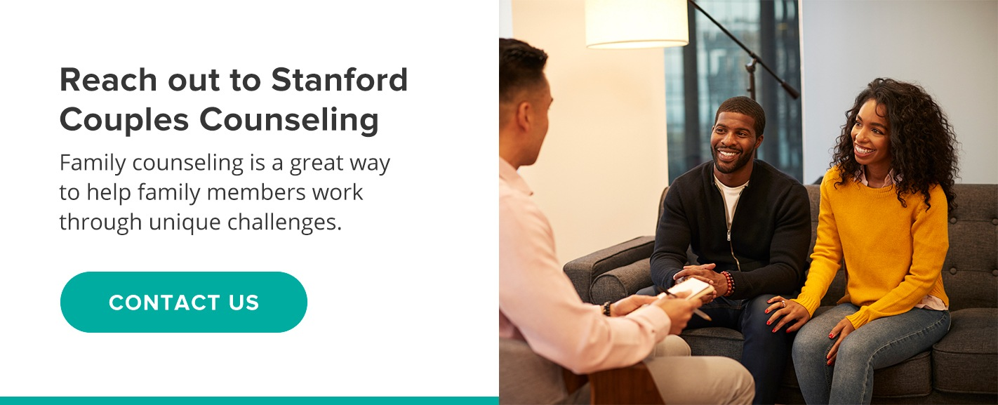 reach out to Stanford Couples Counseling for family counseling
