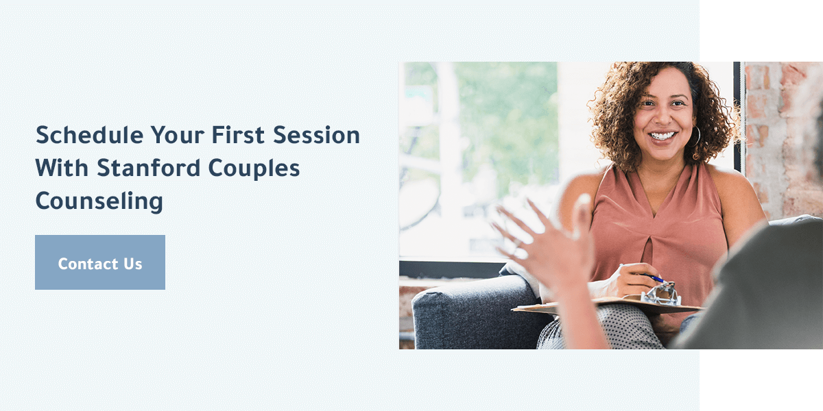 schedule your first therapy session with Stanford Couples Counseling